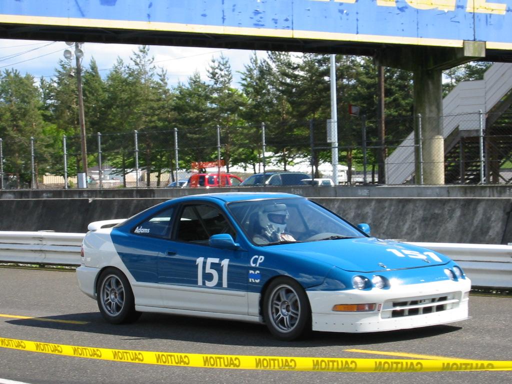 1997 Acura Integra GS-R racecar