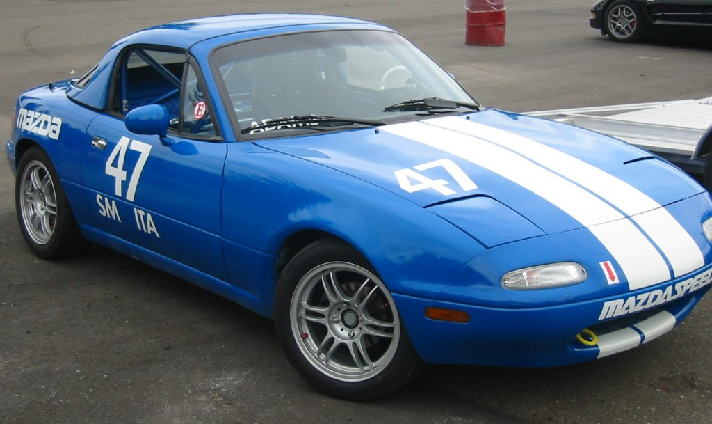 1990 Mazda Miata racecar